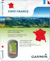 D�stockage Carte GPS Topo 1/4 de France V2