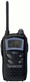 Talkie Walkie Kenwood UBZ-LJ8 noir